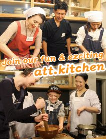 Join our cooking class in Tokyo!