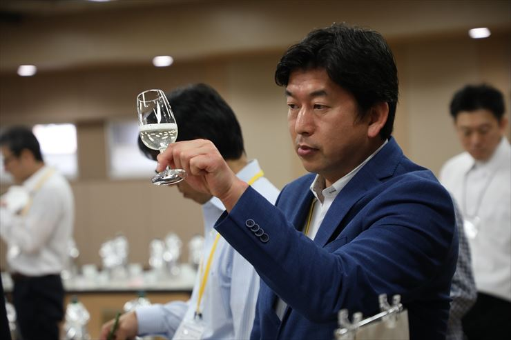 SAKE COMPETITION 2019 심사 모습