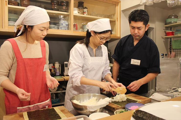 Japanese Cooking Class in Ningyocho