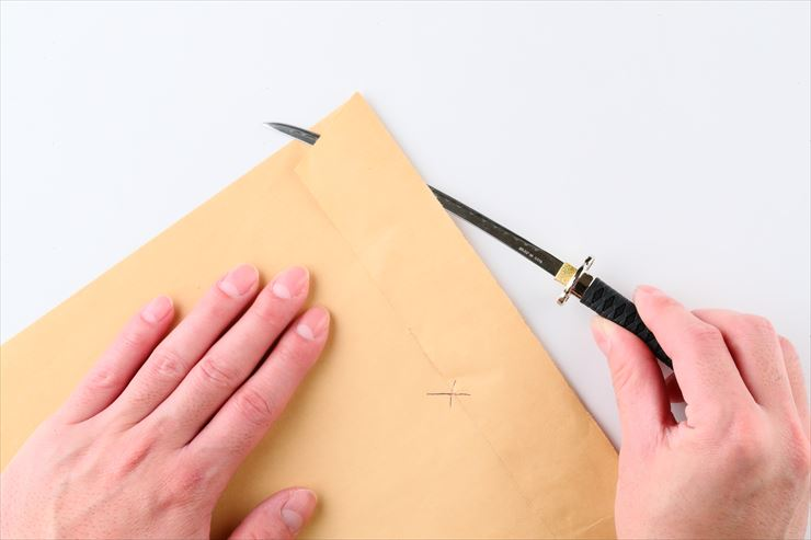 Testing of paper knives