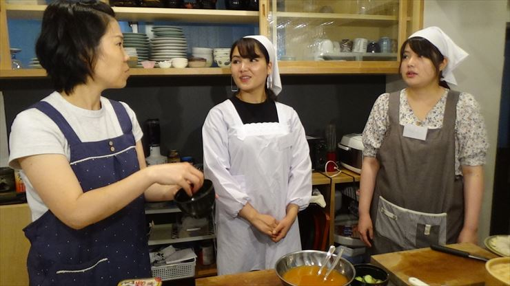 Japanese cooking lesson attKitchen