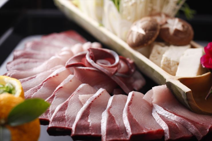 shabushabu of winter yellowtail